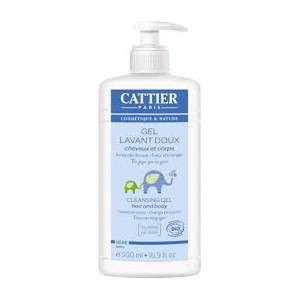Cattier Bebé Gel Baño Espumoso 500ml