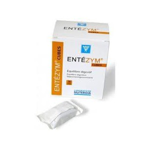 Entezym 12 Cubitos Masticables