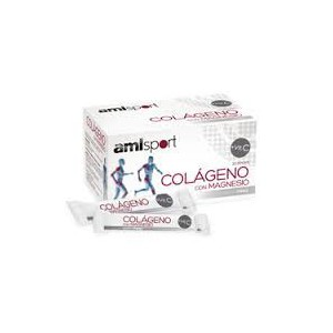 Amlsport Colágeno+Mg+Vit.C (Sticks)