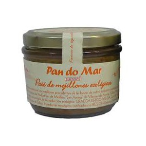 Paté Mejillones Bio 125Grs Pan Do Mar