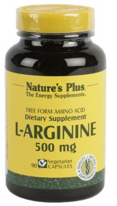 L-Arginina 500mg 90 Cáps. Nature's Plus