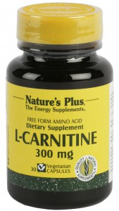 L-Carnitina 300mg 30 Cáps. Nature's Plus