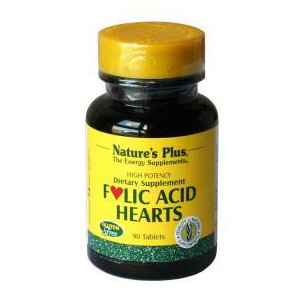 Folic Acid Hearts Nature's Plus