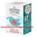 Té Blanco Con Fresas 20 Filtros Higher Living